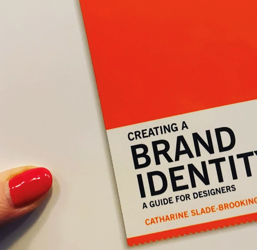 Creating a brand identity book for graphic designers