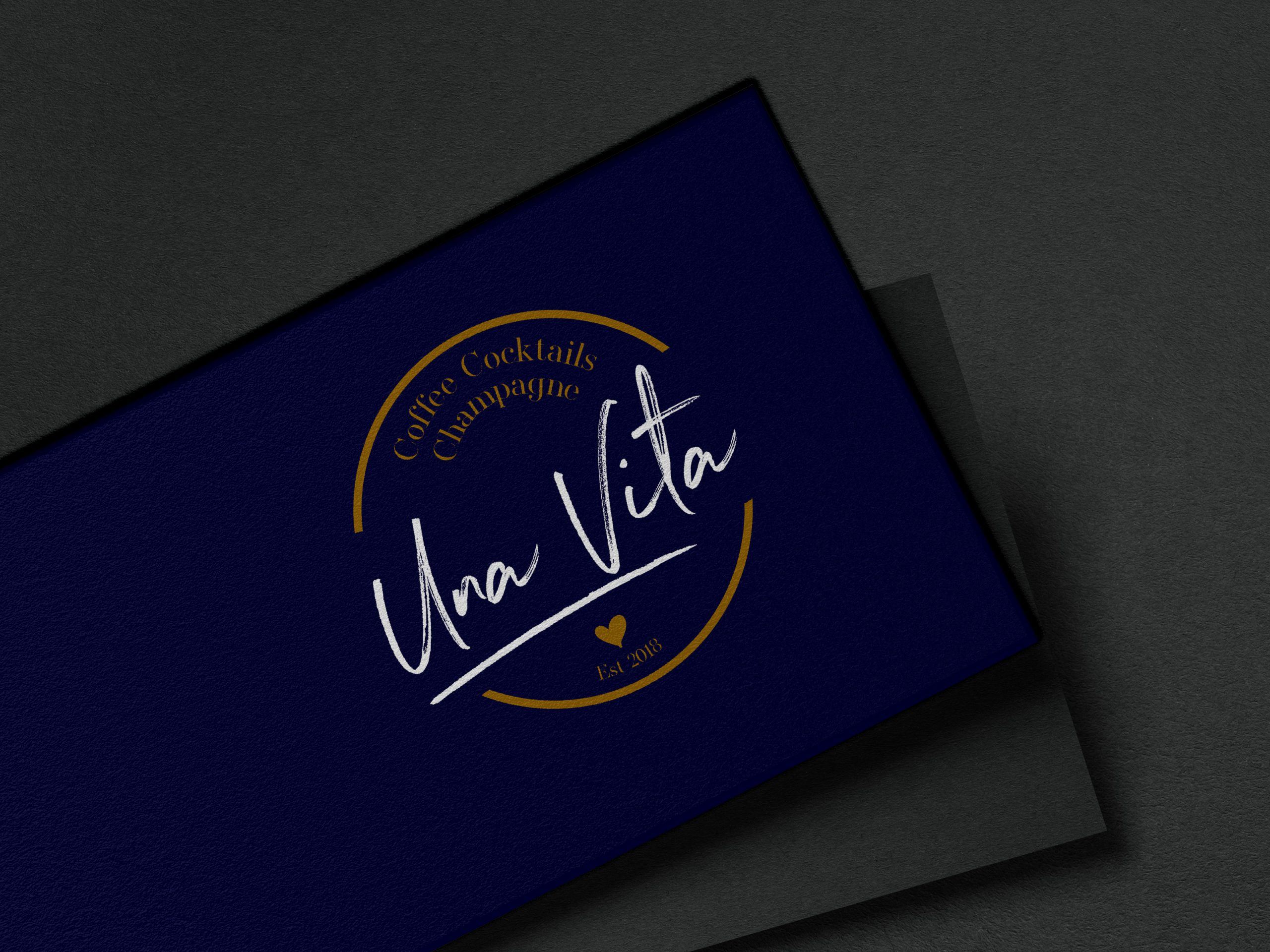 Logo and brand design for food company Una Vita