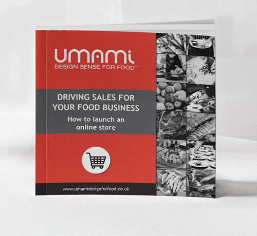 Free download brochure designed for food businesses to drive sales through marketing