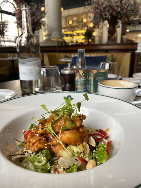 Food trend research at The Ivy Clifton Bristol for food trend report